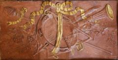 Pair of 18th Century Terra cotta Trophy Reliefs - 577178