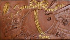 Pair of 18th Century Terra cotta Trophy Reliefs - 577179
