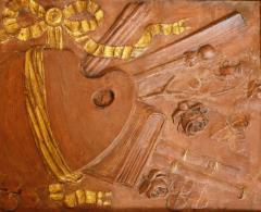Pair of 18th Century Terra cotta Trophy Reliefs - 577181