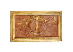 Pair of 18th Century Terra cotta Trophy Reliefs - 577182