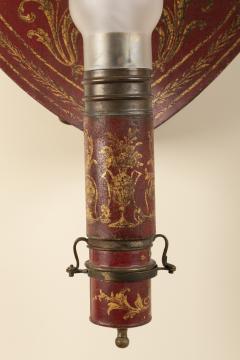 Pair of 18th century tole sconces - 1838504