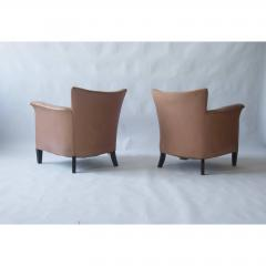Pair of 1930s Danish Leather Club Chairs - 1743063