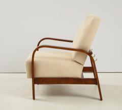 Pair of 1930s Italian Reclining Armchairs - 1923643