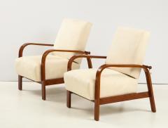 Pair of 1930s Italian Reclining Armchairs - 1923652