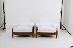 Pair of 1940s Italian Lounge Chairs - 735702