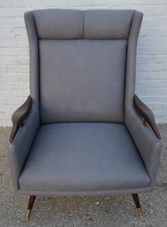 Pair of 1950s Brazilian Lounge Armchairs Chairs - 301880