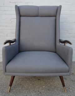 Pair of 1950s Brazilian Lounge Armchairs Chairs - 301881