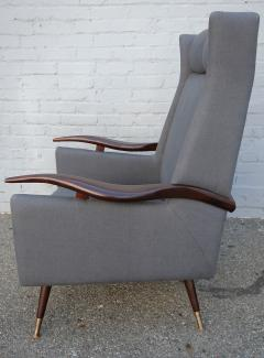 Pair of 1950s Brazilian Lounge Armchairs Chairs - 301882