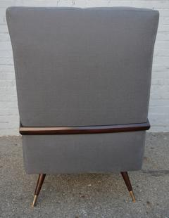 Pair of 1950s Brazilian Lounge Armchairs Chairs - 301883