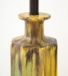 Pair of 1950s Glazed Ceramic Lamps  - 1316178