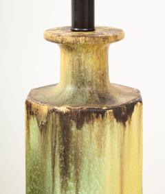 Pair of 1950s Glazed Ceramic Lamps  - 1316179