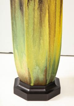 Pair of 1950s Glazed Ceramic Lamps  - 1316186