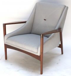 Pair of 1950s Ib Kofod Larsen Armchairs - 299755