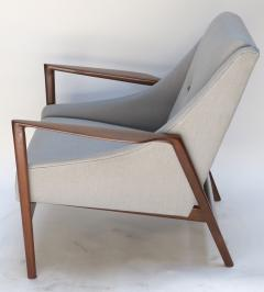 Pair of 1950s Ib Kofod Larsen Armchairs - 299756