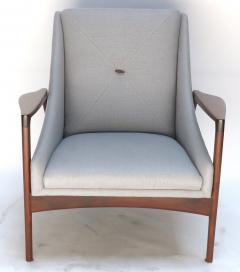 Pair of 1950s Ib Kofod Larsen Armchairs - 299757