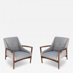 Pair of 1950s Ib Kofod Larsen Armchairs - 300428