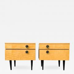 Pair of 1950s Italian Nightstands - 1103637