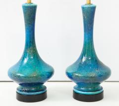 Pair of 1960s Italian Ceramic Lamps  - 1135993