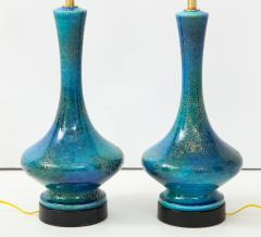 Pair of 1960s Italian Ceramic Lamps  - 1135994