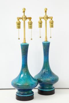 Pair of 1960s Italian Ceramic Lamps  - 1135995