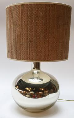 Pair of 1980s Chrome Table Lamps - 962219