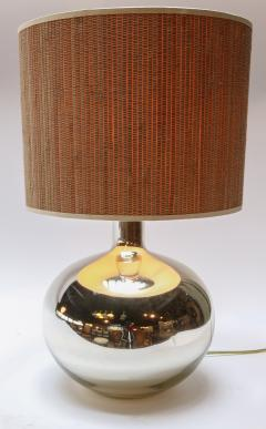Pair of 1980s Chrome Table Lamps - 962220