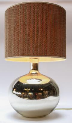 Pair of 1980s Chrome Table Lamps - 962221