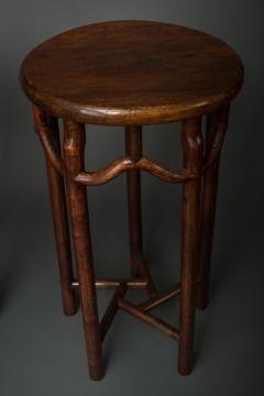 Pair of 19th Century Chinese Elmwood Stands - 1552142