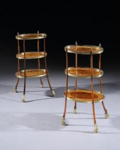 Pair of 19th Century Etageres Side Tables - 1137603