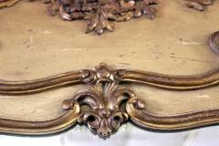 Pair of 19th Century Gilded Wood French Trumeau Mirror - 783706
