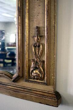 Pair of 19th Century Gilded Wood French Trumeau Mirror - 783707