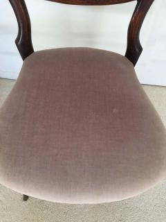 Pair of 19th Century Victorian Walnut Chairs - 1829927