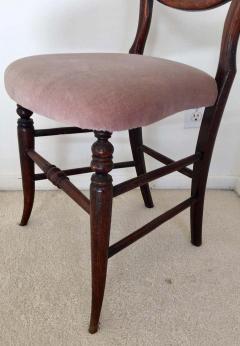 Pair of 19th Century Victorian Walnut Chairs - 1829928