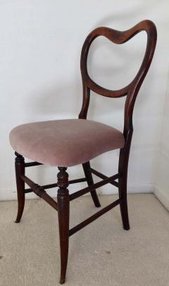 Pair of 19th Century Victorian Walnut Chairs - 1829929