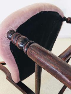 Pair of 19th Century Victorian Walnut Chairs - 1829934