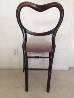 Pair of 19th Century Victorian Walnut Chairs - 1829936