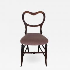Pair of 19th Century Victorian Walnut Chairs - 1830299
