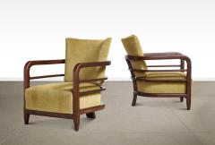Pair of 3 Leg Lounge Chairs - 1833217