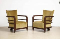 Pair of 3 Leg Lounge Chairs - 1833218