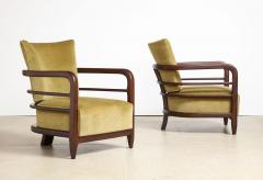 Pair of 3 Leg Lounge Chairs - 1833219