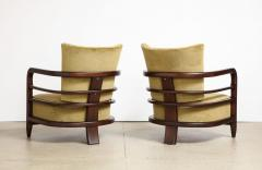 Pair of 3 Leg Lounge Chairs - 1833220