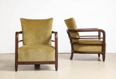 Pair of 3 Leg Lounge Chairs - 1833221