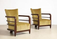 Pair of 3 Leg Lounge Chairs - 1833222