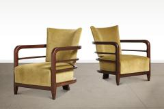 Pair of 3 Leg Lounge Chairs - 1833223