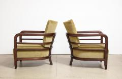 Pair of 3 Leg Lounge Chairs - 1833224