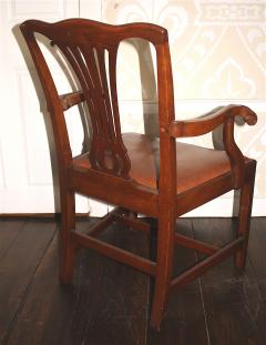 Pair of American Chippendale Revival Armchairs - 1866614