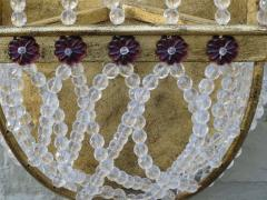 Pair of Amethyst Rock Crystal Sconces - 568202