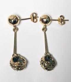 Pair of Antique Diamond Earrings C 1920 - 1225174
