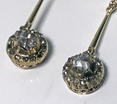 Pair of Antique Diamond Earrings C 1920 - 1225176