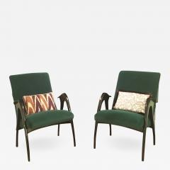 Pair of Armchairs - 907494